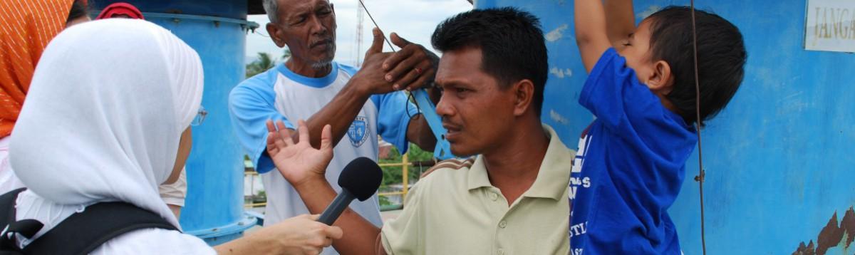 Journalistik på bloggen – på tryk og i radioen