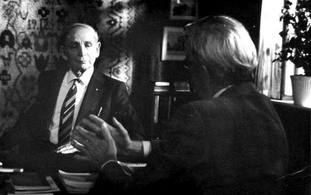 Jens Th. Arnfred som 92-årig i dokumentarfilm af Jørgen Roos.